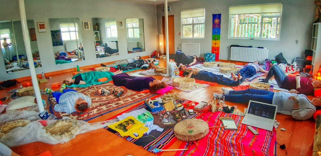 Make your Own Drum Shamanic Ceremony Workshop (2)