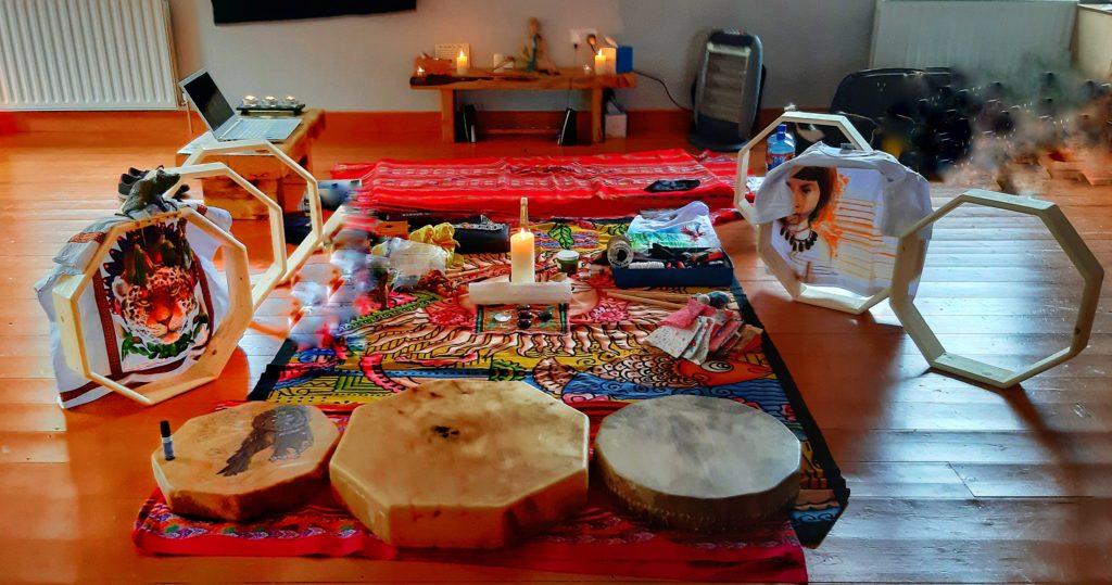 Make your Own Drum Shamanic Ceremony Workshop (3)