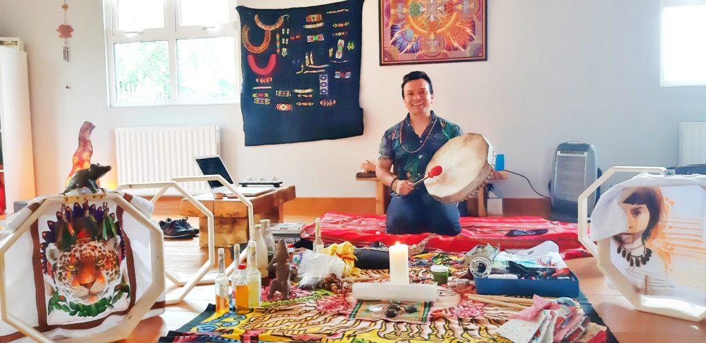 Make your Own Drum Shamanic Ceremony Workshop (4)