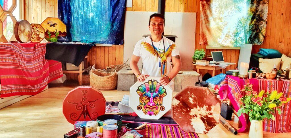 Make your Own Drum Shamanic Ceremony Workshop (5)