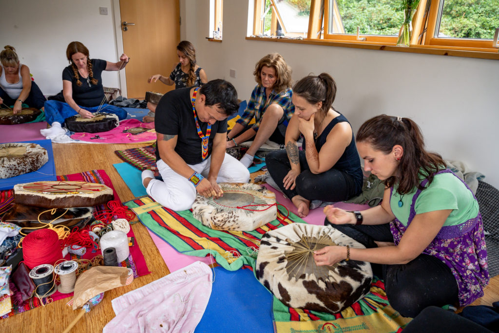 Make your Own Drum Shamanic Ceremony Workshop (6)
