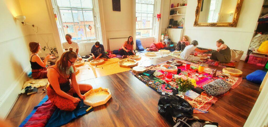 Make your Own Drum Shamanic Ceremony Workshop (7)