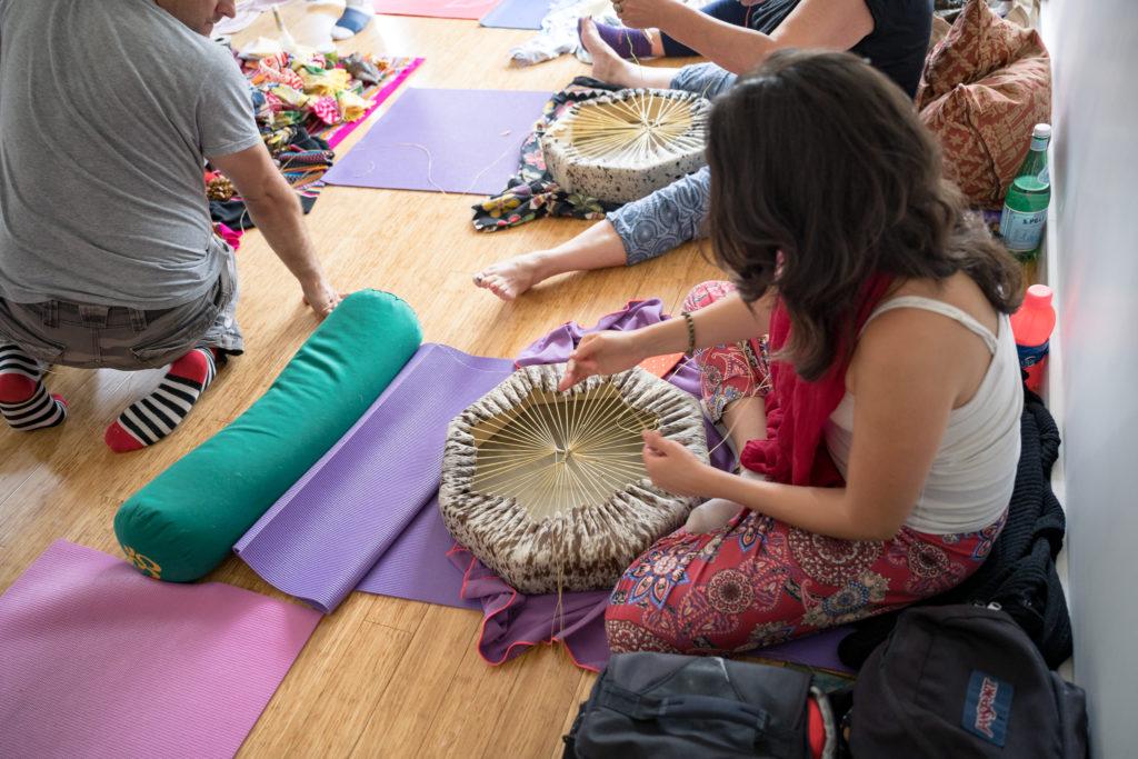 Make your Own Drum Shamanic Ceremony Workshop (8)