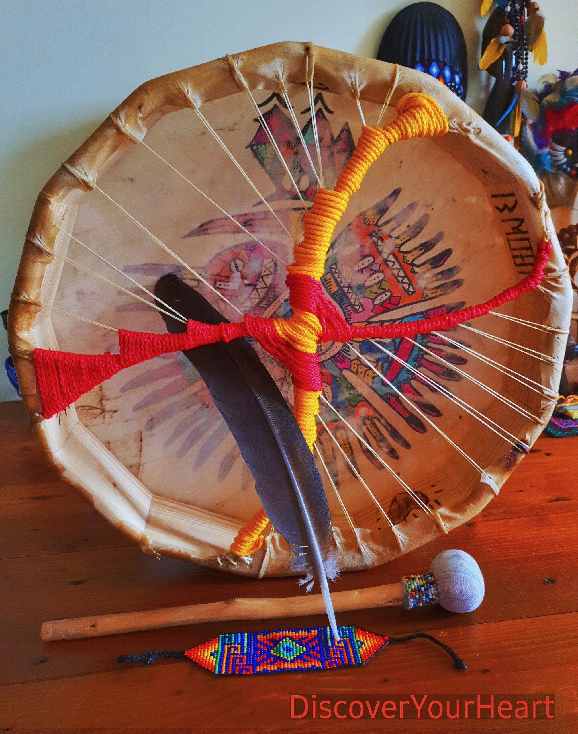 Make your Own Drum Shamanic Ceremony Workshop (9)