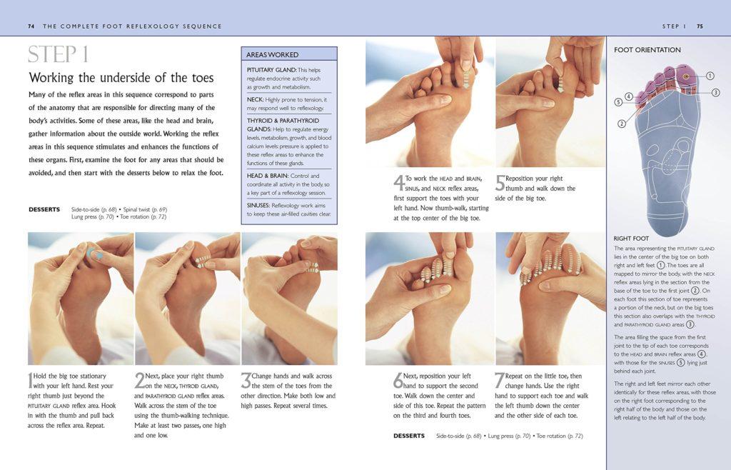 Alex Rey Holistic Terapies Reflexology Foot mapping