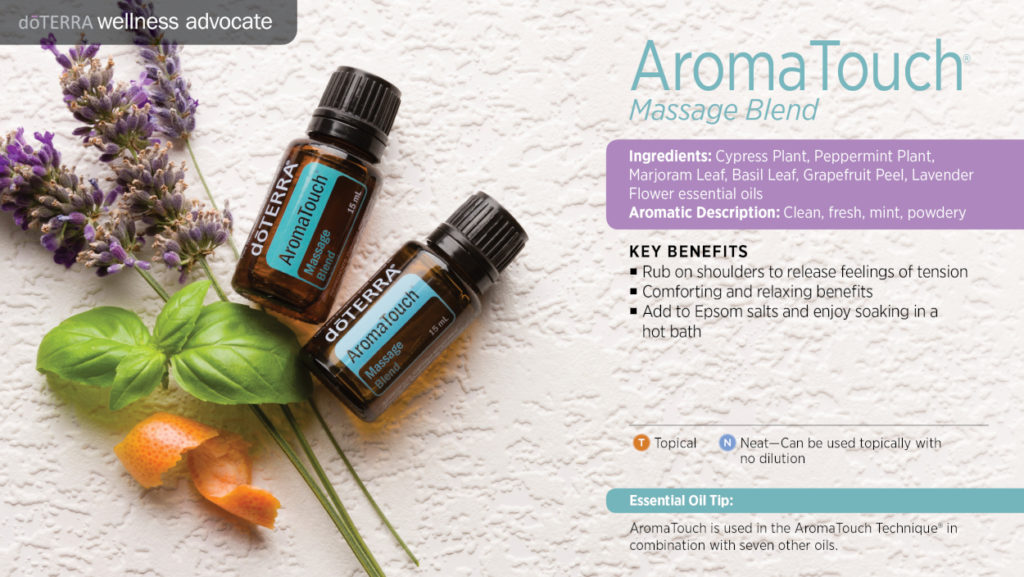 Aromatherapy Massage Alexander Rey Discover Your Heart blend